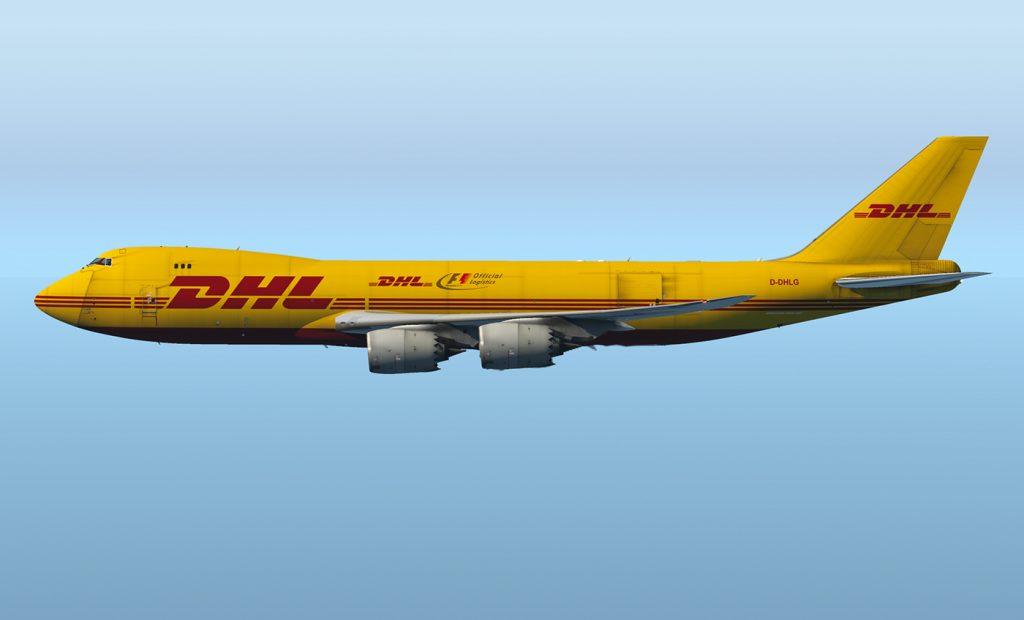 Máy bay chuyên dụng của DHL