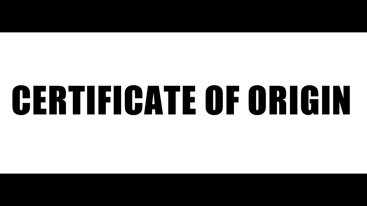 Thủ tục cấp giấy chứng nhận xuất xứ hàng hóa (C/O) form S