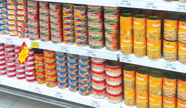 5 bước nhập khẩu thực phẩm đóng hộp